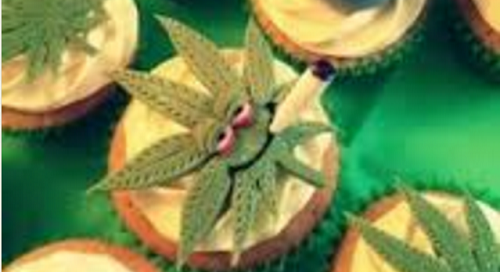Chocoloate and Cannabis Cupcakes